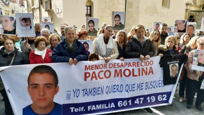 Concentración este sábado en Córdoba en recuerdo del joven desaparecido Paco Molina.