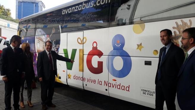 El alcalde de Vigo, Abel Caballero, en la Estación Sur de Méndez Álvaro en Madrid
