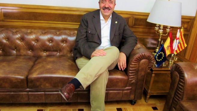 El presidente de la Diputación Provincial de Teruel, Manuel Rando