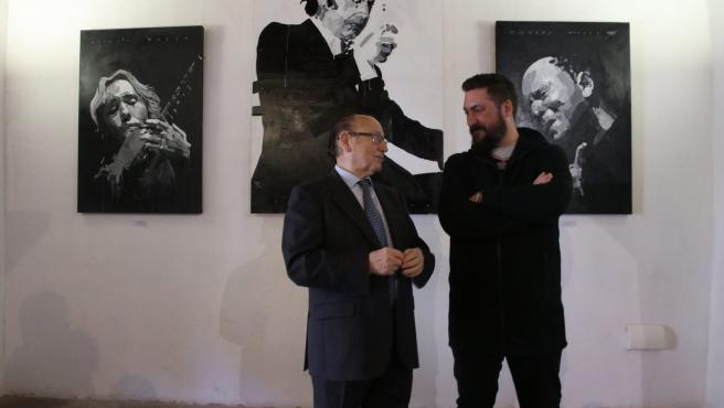 'Fosforito' Inaugura La Exposición 'La Verdad De Lo Jondo' Del Artista Plástico Eduardo Parrac