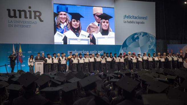 Graduación de UNIR en Colombia