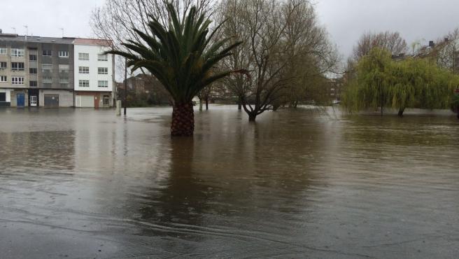 Inundaciones en Carballo (A Coruña) temporal lluvia