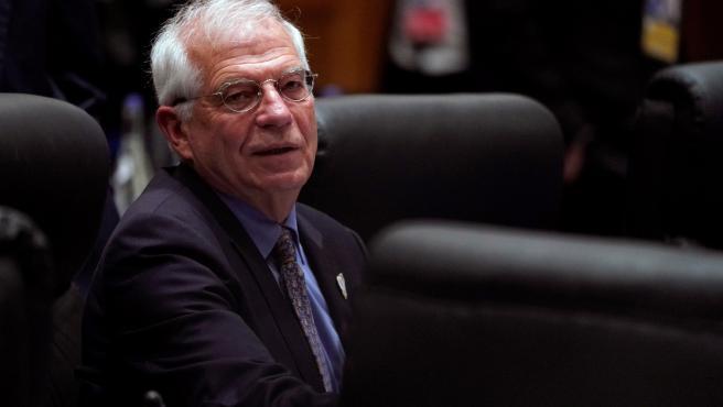 El ministro español de Asuntos Exteriores, Josep Borrell, en Japón.