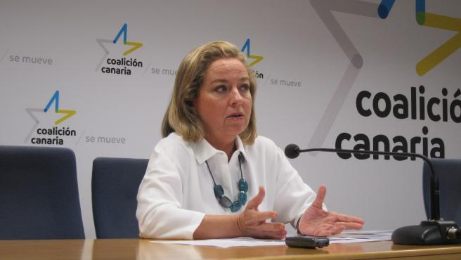 La diputada de CC, Ana Oramas.