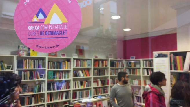 Local con la distinción de Xarxa de Cures de Benimaclet