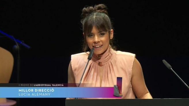 Lucia Alemany gana el Premi de l'Audiovisual Valencià a mejor dirección