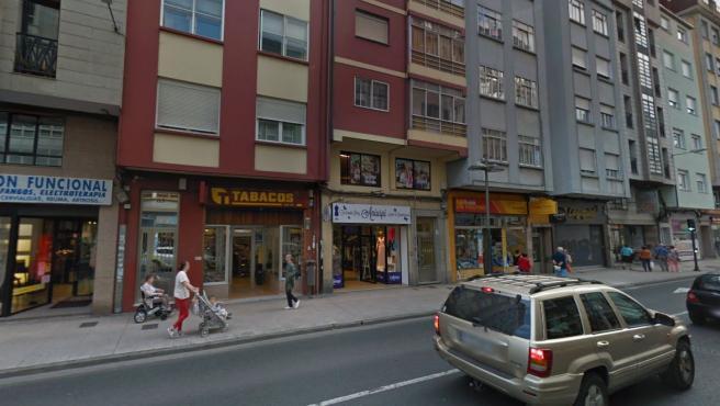 Imagen del lugar en el que ha sido detenido el presunto autor del homicidio.