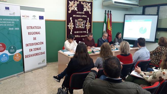 [Sevilla] Plan Local De Intervención Zonas Desfavorecidas. Nota De Prensa Y Fotografías.