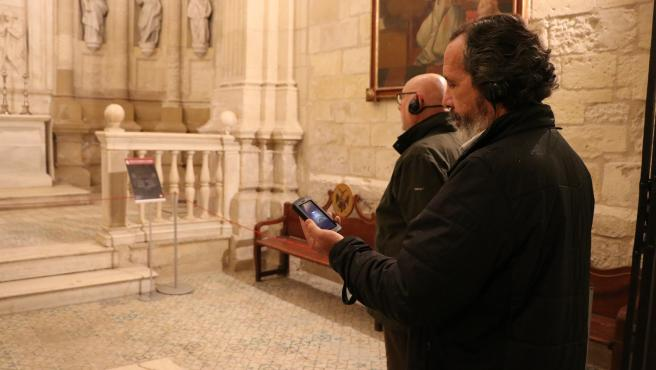 Visitantes a la Catedral durante el programa 'Conocer para conservar'