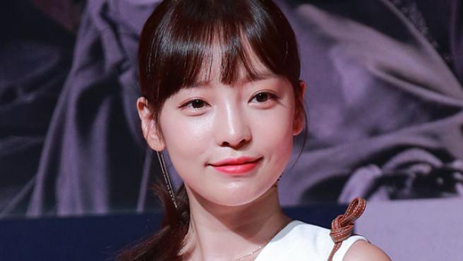 Imagen de archivo de la cantante surcoreana Goo Ha-ra.