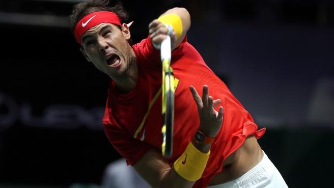 Nadal, en la Copa Davis