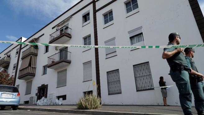 Vivienda situada en San Isidro (Granadilla de Abona, Tenerife) donde ha sido asesinada una mujer de 26 años.