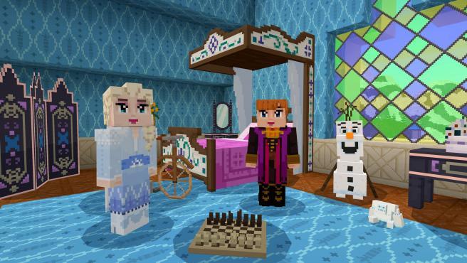 El juego de Mojang acaba de recibir contenido especial de 'Frozen II'.