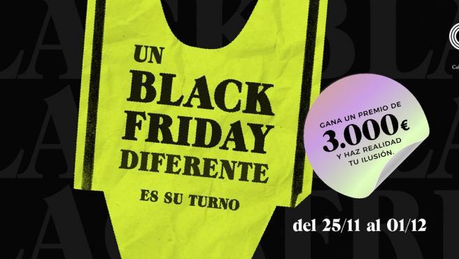 Imagen de la campaña 'Un Black Friday Diferente' impulsada por Confecomerç CV