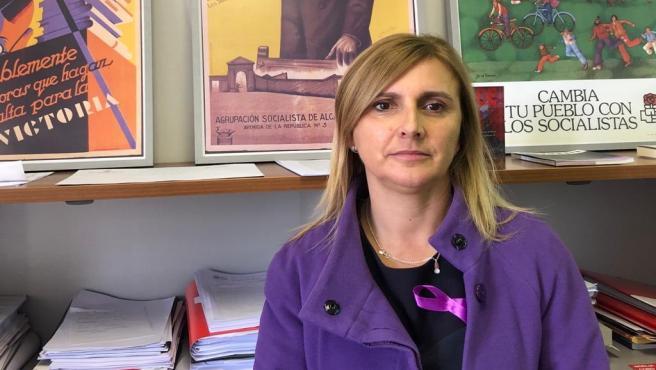 La portavoz del grupo socialista en el Parlamento de Cantabria y secretaria de Organización del PSOE de Cantabria , Noelia Cobo