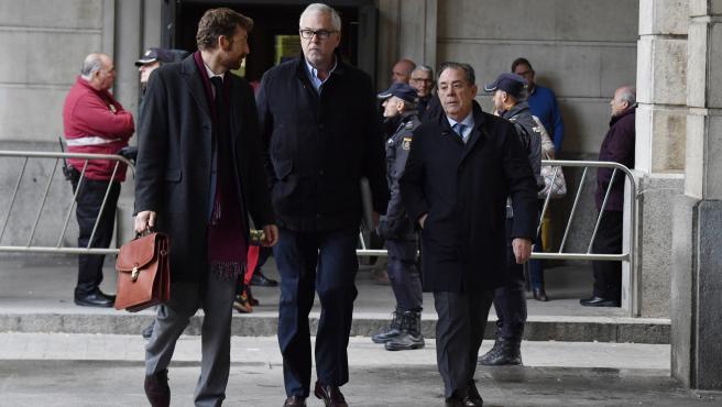 Manuel Gomez en el juicio de los ERE.