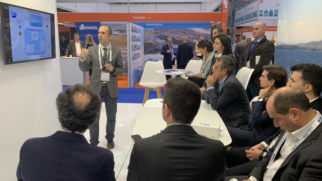 El consejero de Industria, Francisco Martín, presenta en Copenhague un proyecto europeo liderado por Cantabria que mejora la eficiencia de los eólicos marinos