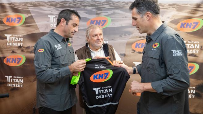 Miguel Indurain regresa a la competición en la Titan Desert