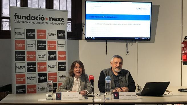 Presentación de L'Observatori del valencià de la Fundació Nexe