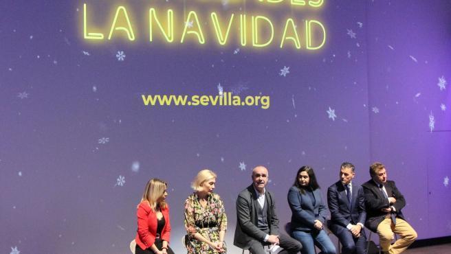 Presentación de la programación navideña de Alumbra 2019, en Sevilla.