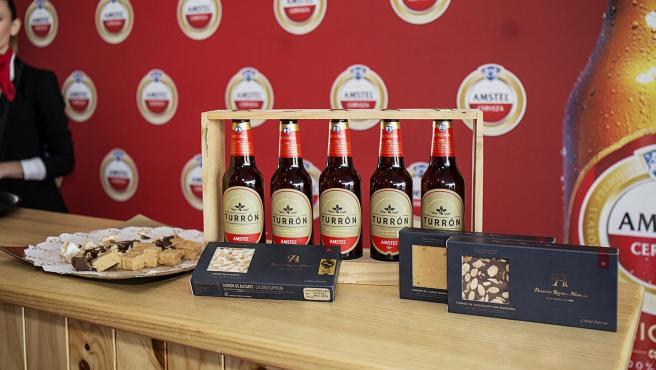 Cerveses Amstel sabor Torró