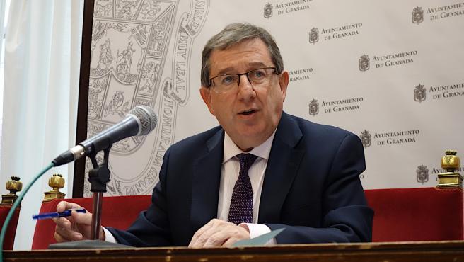 El concejal de Economía de Granada, Luis González