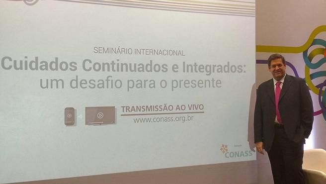 El director de Programas de la Fundación New Health, Zacarías Rodríguez, ha explicado como la Fundación sevillana desarrolla programas integrales de excelencia en la atención de cuidados paliativos como el Método Newpalex.