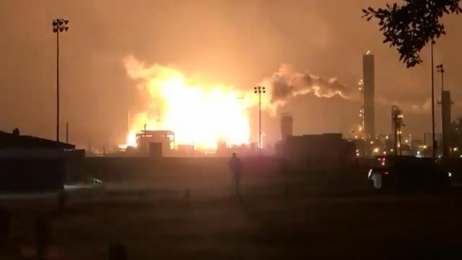 Explosión de una planta química en Texas