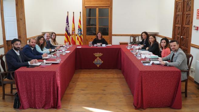 Imagen de la Conferencia de Presidentes con la presidenta del Govern, Francina Armengol, al frente