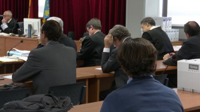 Juicio por el caso Palau en la Ciudad de la Jutsicia de Valencia