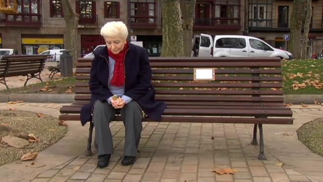 La anciana del banco de Bilbao