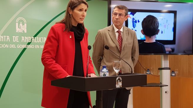La delegada de Educación y Políticas Sociales, Mercedes García Paine