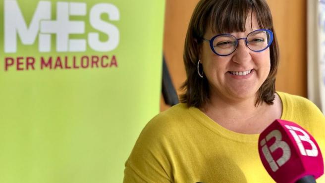 La portavoz de MÉS per Mallorca, Bel Busquets.