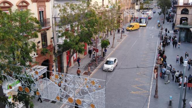 Algunos de los motivos navideños que se iluminarán en Sevilla a partir del día 29 de noviembre.