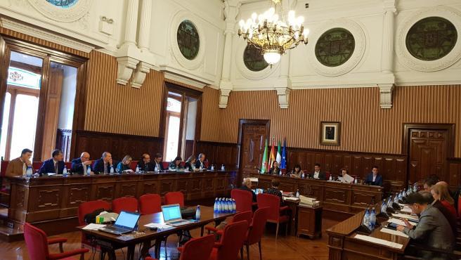 Pleno de presupuestos en la Diputación de Jaén