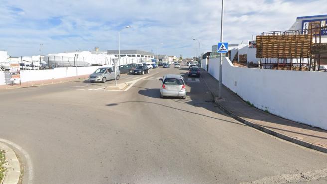 Polígono industrial de Ciutadella, Menorca.