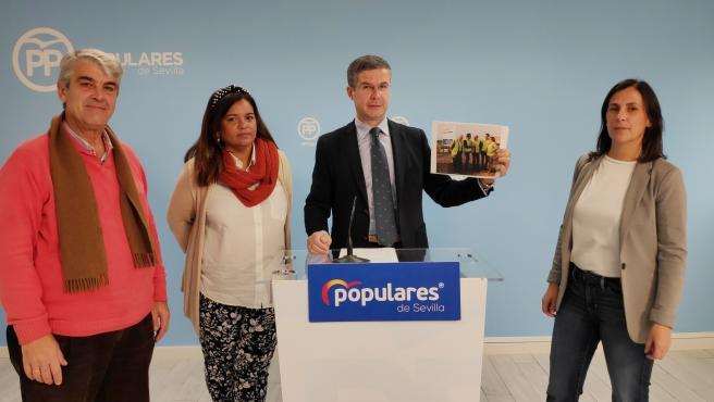 Ramón Peña en rueda de prensa