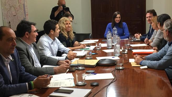 Reunión de la comisión de investigación de la EMT de este miércoles.