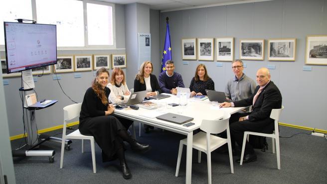 Reunión de los participantes en el proyecto europeo 'Form-Arte+', que coordina el Grupo San Valero.