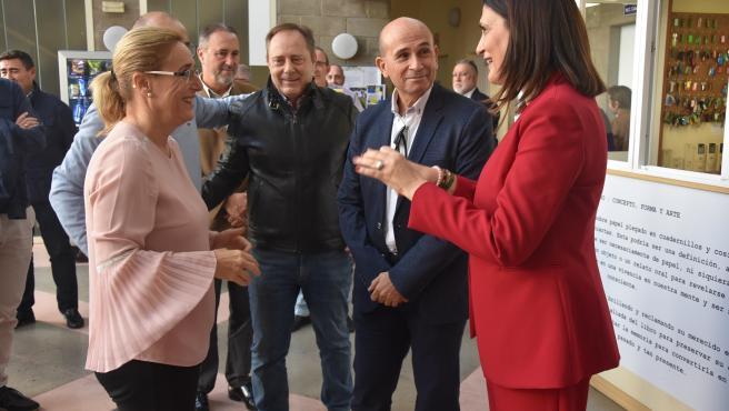 Ana Mula, alcaldesa de Fuengirola, en la jornada de mandos de la policía local de toda la provincia para abordar la futura regulación de los patinetes eléctricos