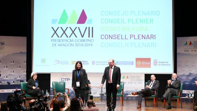 Cataluña asume la presidencia de la Comunidad de Trabajo de los Pirineos