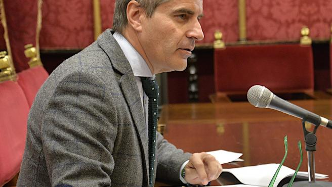 El concejal de Seguridad Ciudadana de Granada, César Díaz