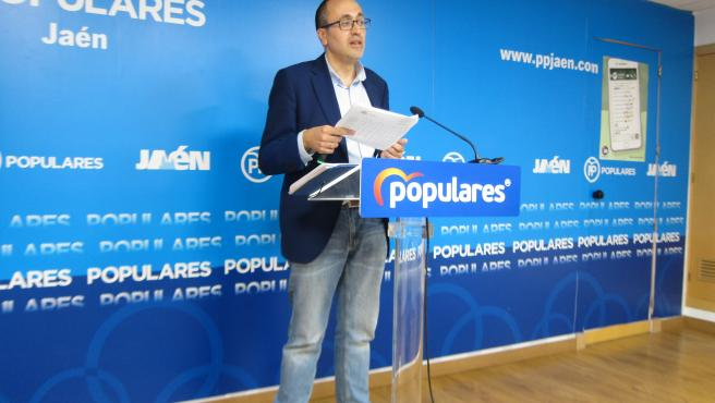 El portavoz del PP en el Ayuntamiento de Jaén Manuel Bonilla en una imagen de archivo