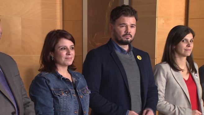 ERC se mantiene en el 'no' a Sánchez tras la primera reunión con el PSOE