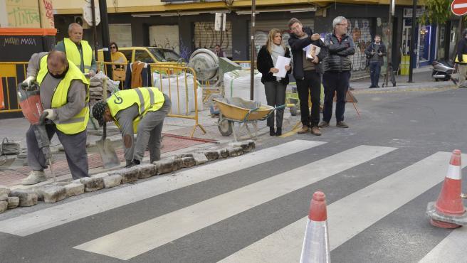 Imagen de las actuaciones para eliminar las barreras arquitectónicas