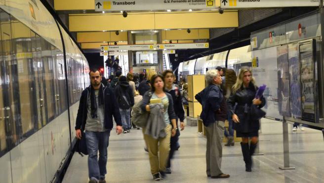 Metro en febrero