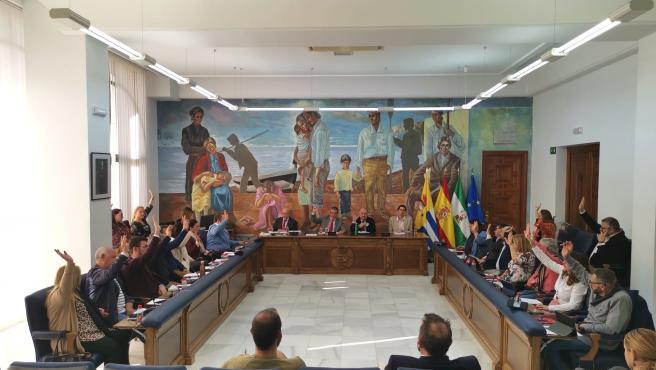 Pleno en el Ayuntamiento de Rincón de la Victoria