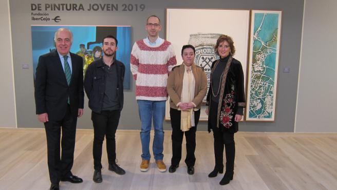 Presentación de la exposición de obras del Premio Ibercaja Pintura Joven 2019.