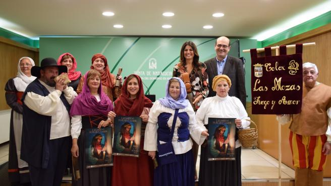 Presentación del Día de las Mozas en Tolox
