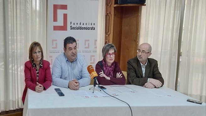 Rueda de prensa de presentación de la Fundación Socialdemócrata